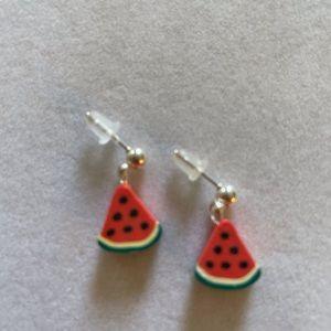 Fun Watermelon Earrings